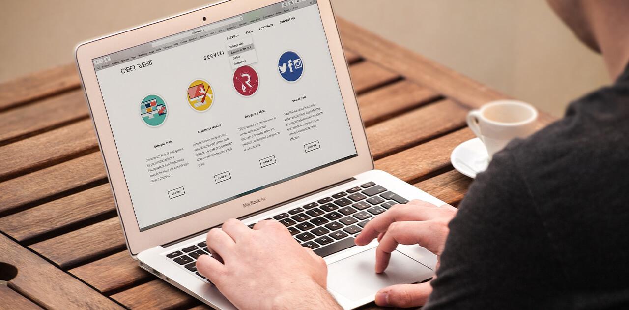 Die erfolgreiche Bewerbungswebsite